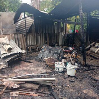 Tres familias lo perdieron todo tras incendio en un barrio de Neiva 2