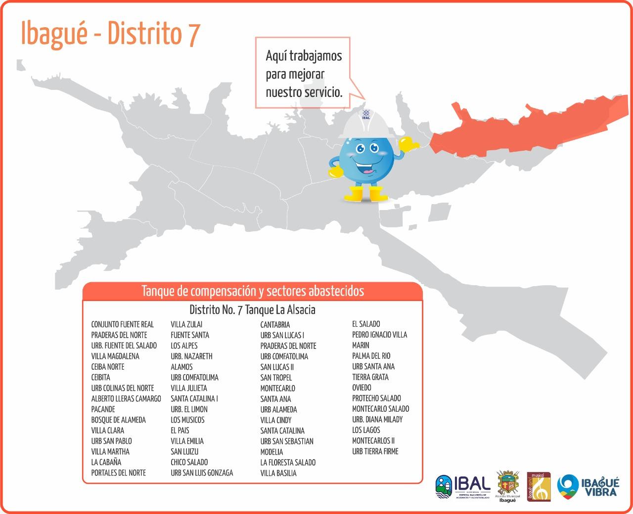 A partir de las 2:00 de la tarde el norte de Ibagué no tendrá servicio de agua 4