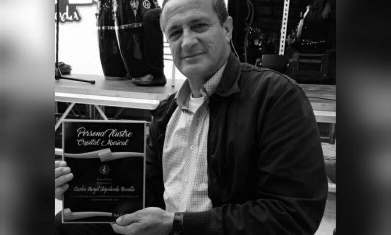 Con honores será despedido el recordado periodista Carlos Sepúlveda 1