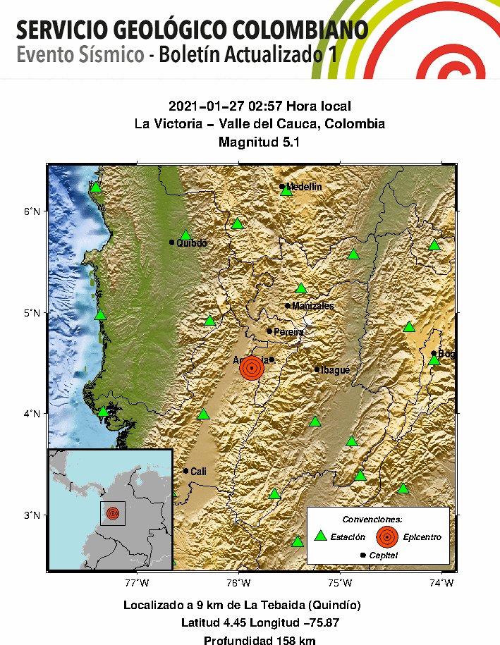 Autoridades no han registrado aun daños tras fuerte temblor de esta madrugada 3