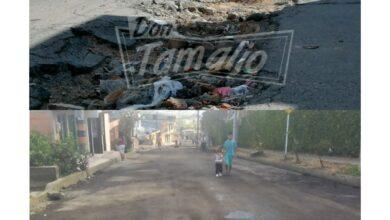Tras haber dejado destruida una de las vías de acceso a los Multifamiliares el Tejar, finalmente la arreglaron de manera temporal 6