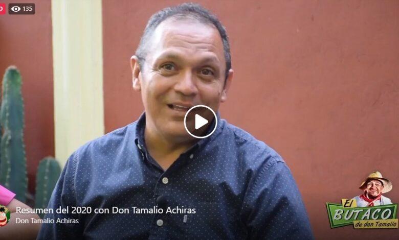 Resumen del 2020 con Don Tamalio 1