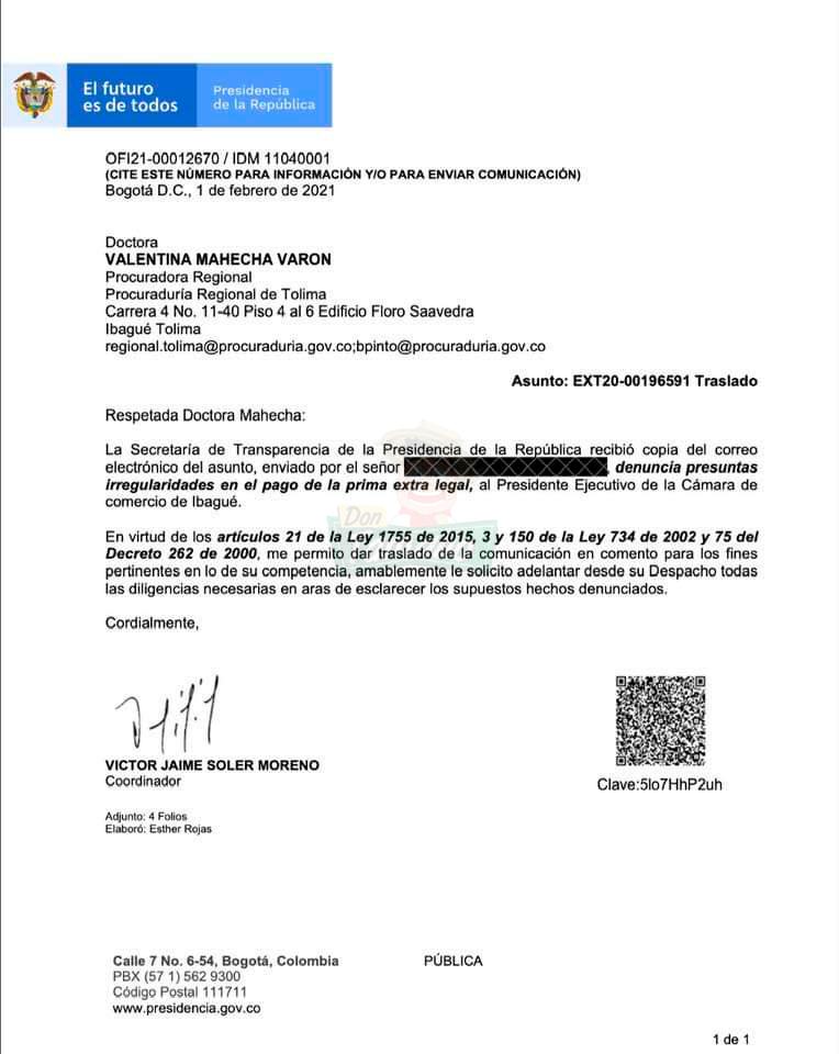 Nueva polémica en la Cámara de Comercio de Ibagué 4