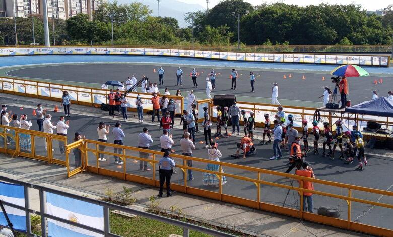 Se ha dado apertura al Panamericano de Patinaje en Ibagué. 1