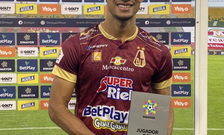 Deportes Tolima comenzó su recuperación en la Liga y venció 2-1 al DIM en Ibagué. 1