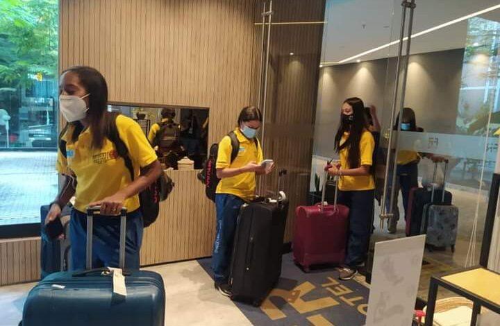 Lista la selección Colombia de Patinaje en Ibagué. 1