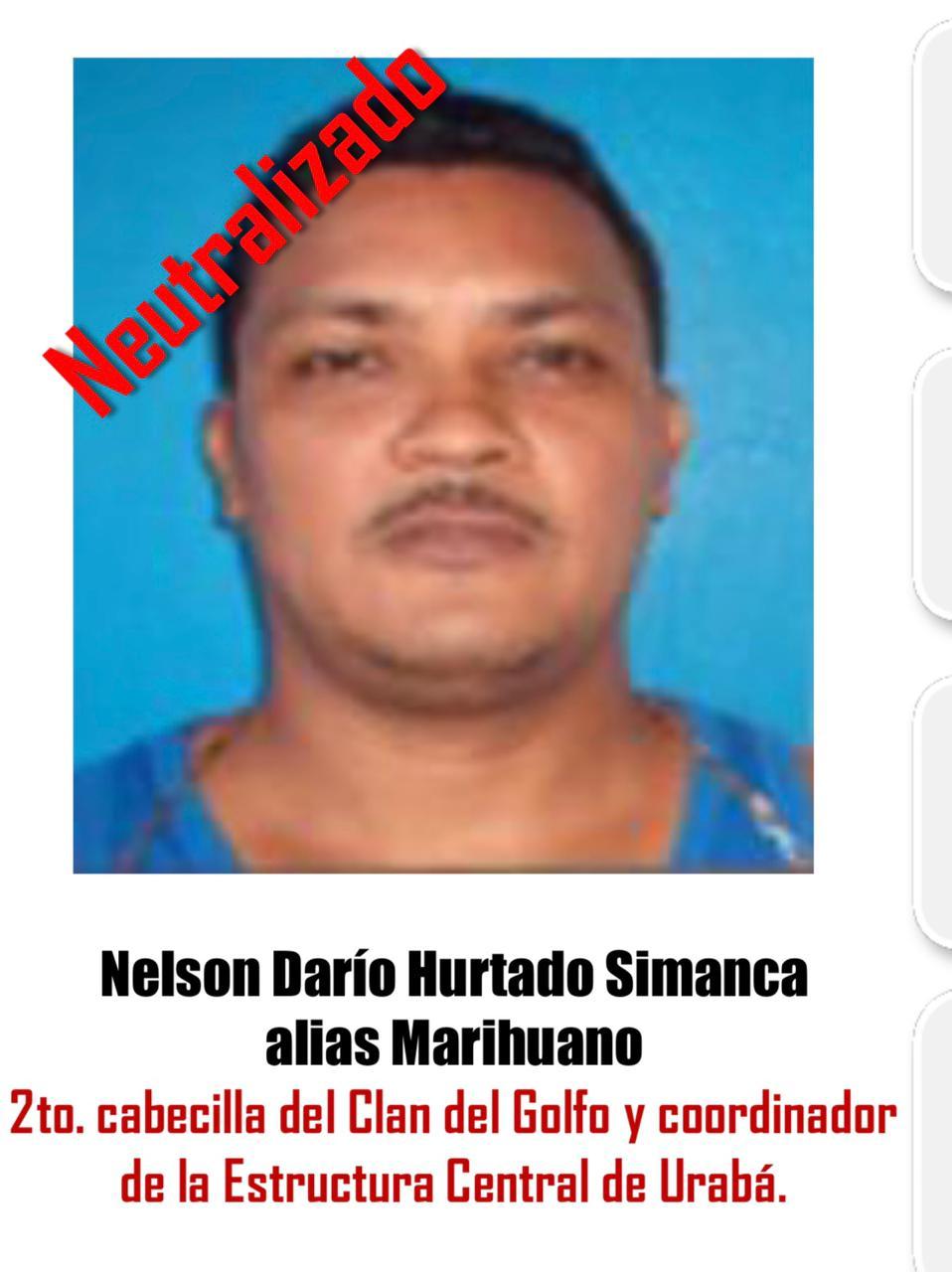 Murió 'Marihuano' en medio de la operación Agamenón 4