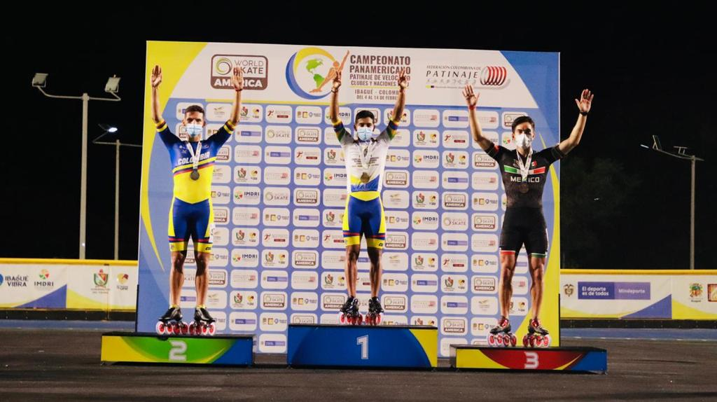 Colombia lider absoluto del Panamericano de Patinaje Naciones. 4