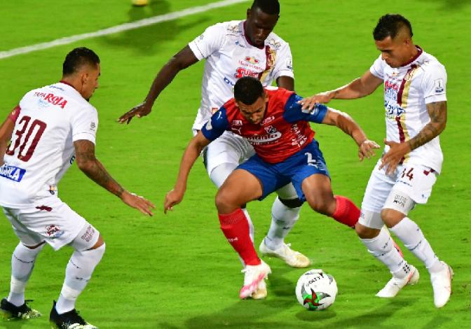 Deportes Tolima no pudo obtener el título ante el Medellín. 1