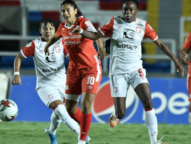 Santa fé y América tienen rivales para la Copa Libertadores femenina. 1