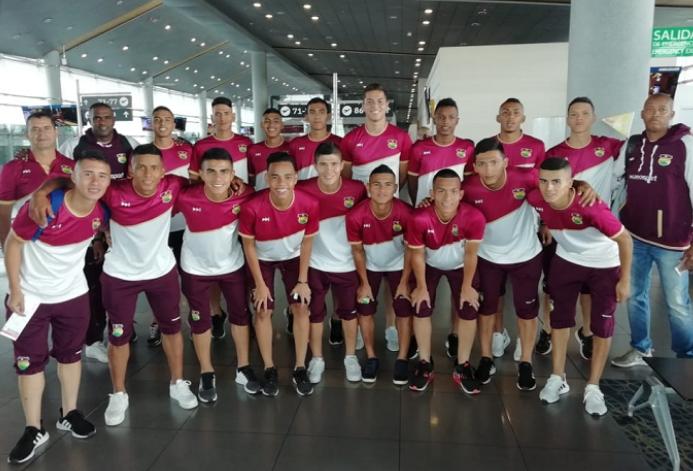 Desde hoy la selección Tolima sub 13 de fútbol jugará cuadrangular en Tunja. 3