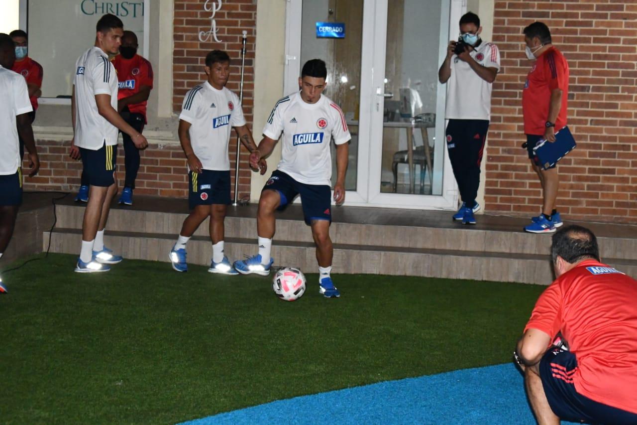 La selección Colombia con Reinaldo Rueda ya empieza trabajos en Barranquilla. 4