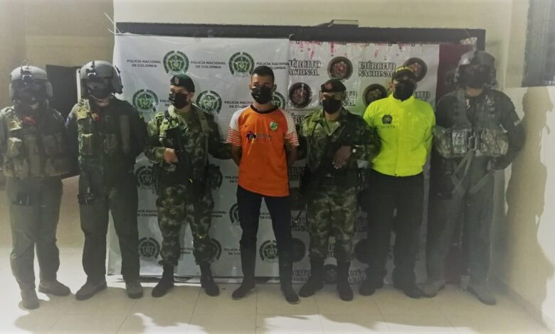 Capturan a criminal que iba a atentar contra la vida de un oficial del Ejército en el Tolima 1