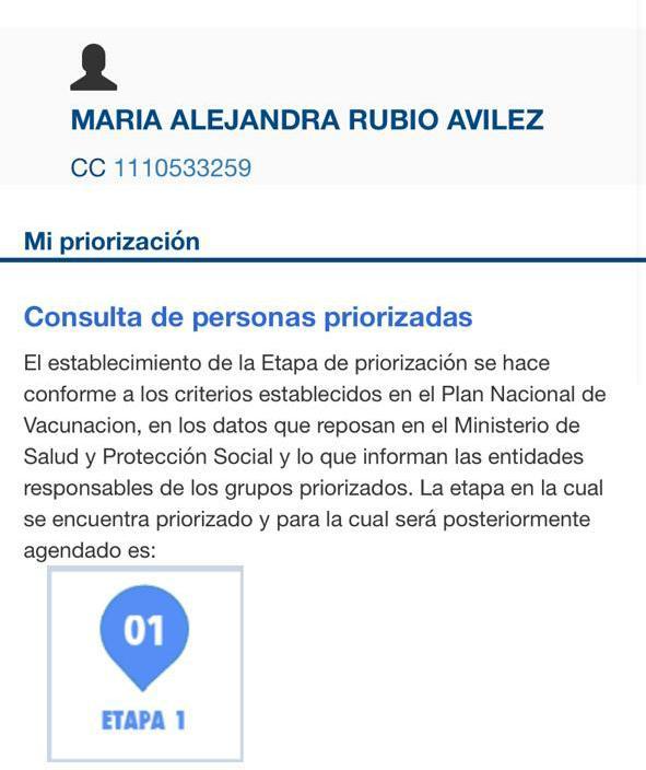 ¿Quiénes son los hijos de la funcionaria del Federico Lleras que fueron vacunados en el Tolima? 8