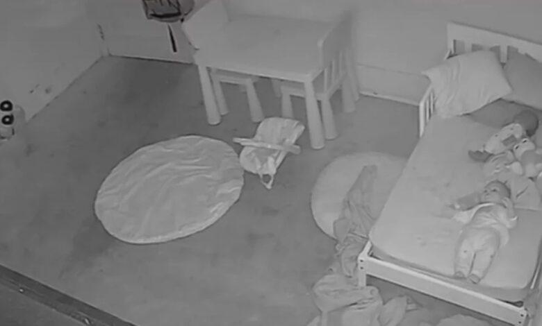 En video quedó registrado el momento en el que supuesto fantasma arrastró a una niña 1