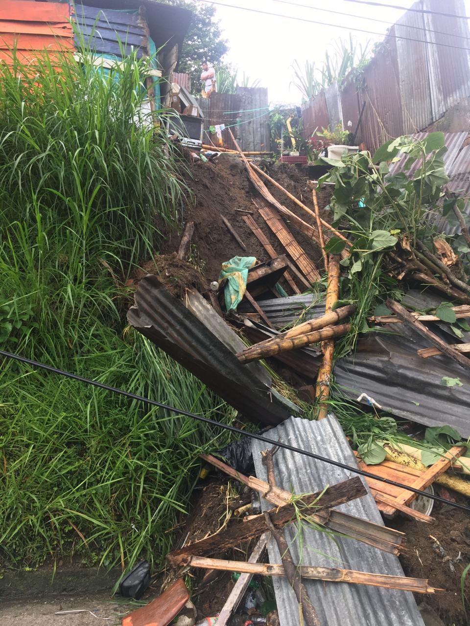 10 personas damnificadas dejan la lluvia de las últimas horas en Ibagué 4