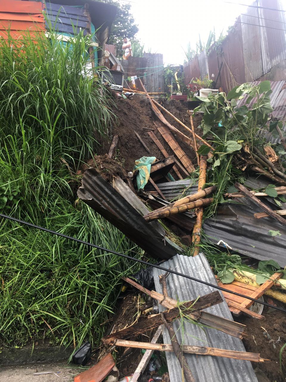 10 personas damnificadas dejan la lluvia de las últimas horas en Ibagué 6