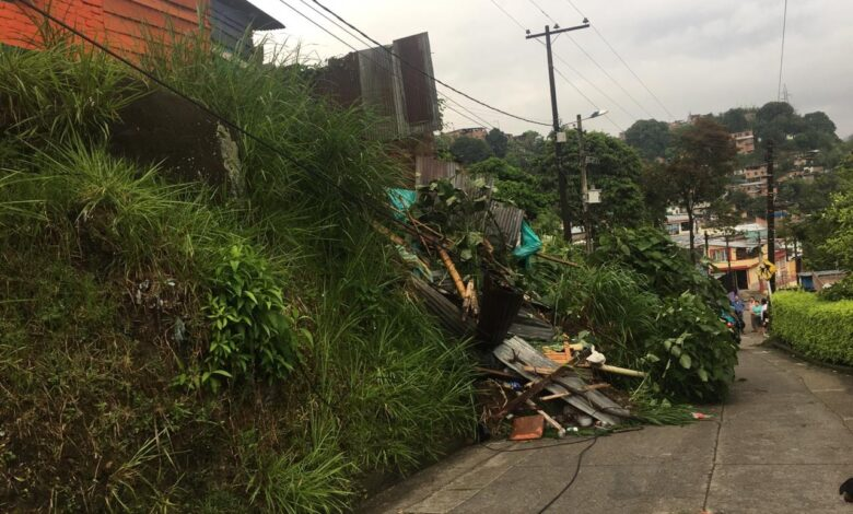 10 personas damnificadas dejan la lluvia de las últimas horas en Ibagué 3