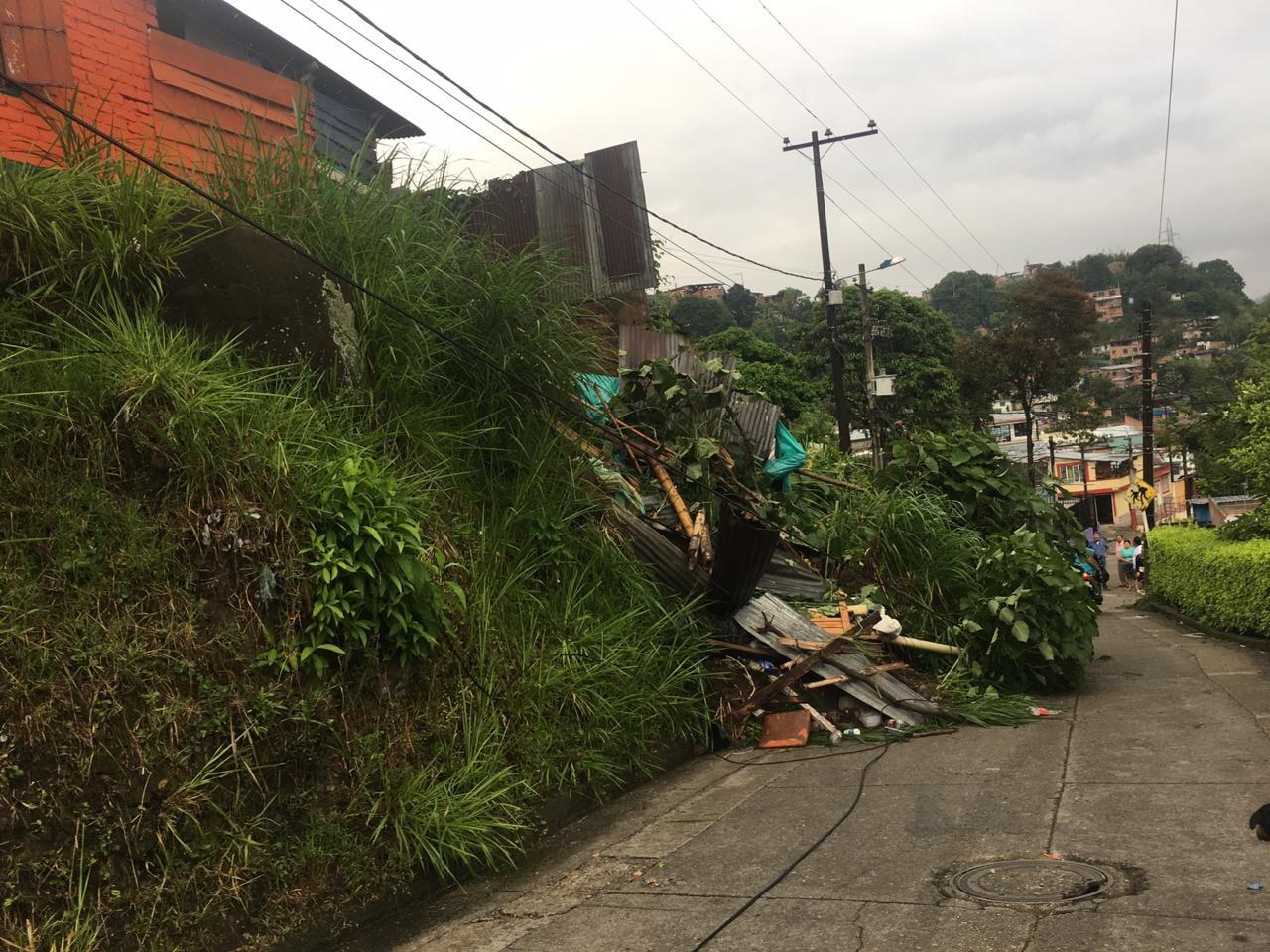10 personas damnificadas dejan la lluvia de las últimas horas en Ibagué 7