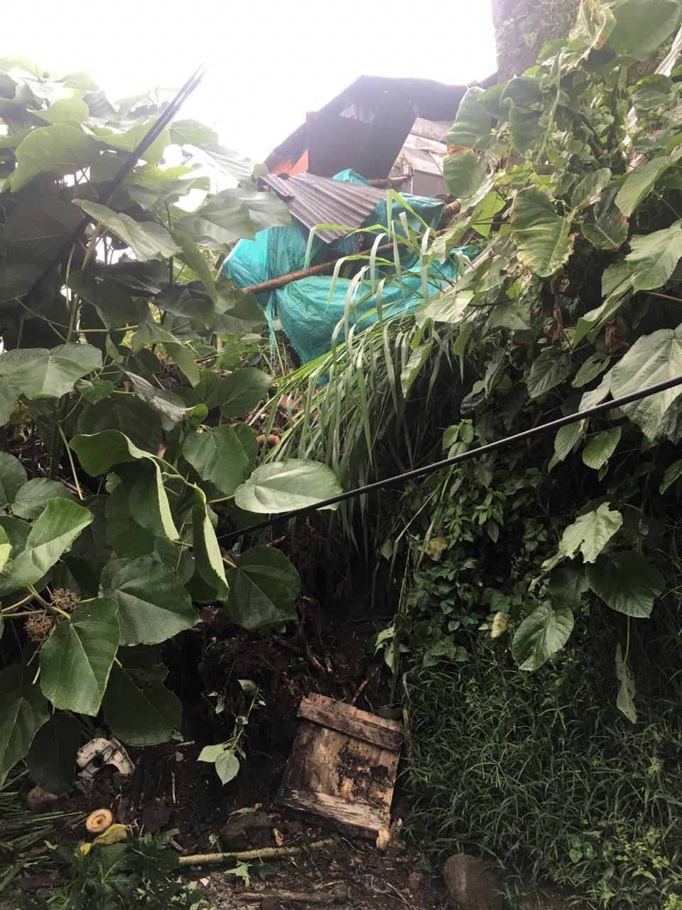 10 personas damnificadas dejan la lluvia de las últimas horas en Ibagué 5