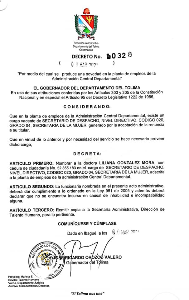 Nombran a funcionaria del Ibal como nueva secretaria de la Mujer 4