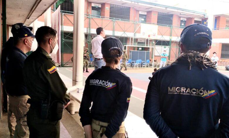 Por cometer actos delictivos fueron deportados venezolanos residentes en Melgar 1