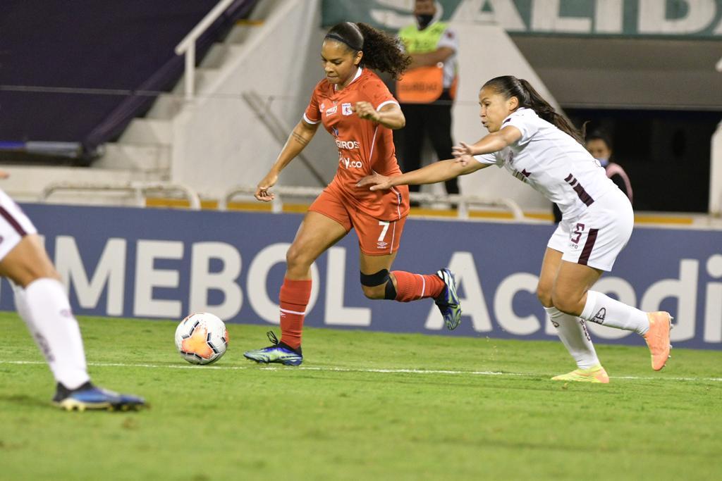 América de Cali perdió la dinal de la Copa libertadores femenina ante Ferroviaria de Brasil. 6
