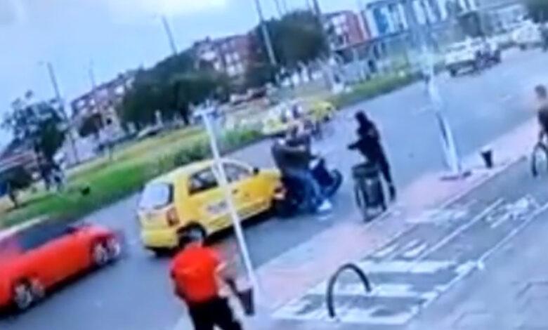 Taxista que intentó arrollar a fleteros fue asesinado 1