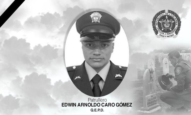 Muere patrullero al tratar de detener delincuentes en Bogotá 3
