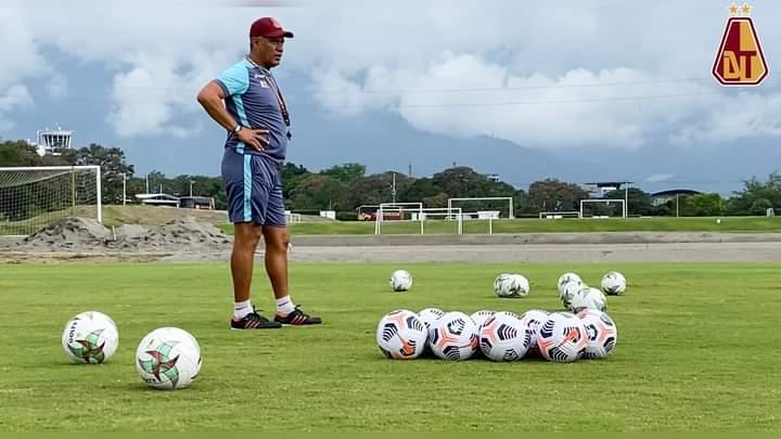 Álvaro Montero sería suplente para el juego de mañana entre Tolima y Jaguares. 9