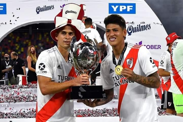 Otro titulo más para Rafael Santos Borré con River Plate. 4