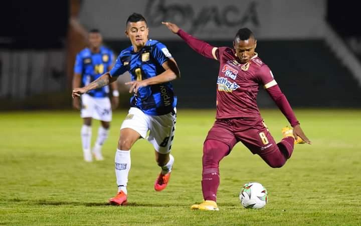 Boyacá Chicó venció en Tunja al Deportes Tolima al cierre de la jornada dominical. 5