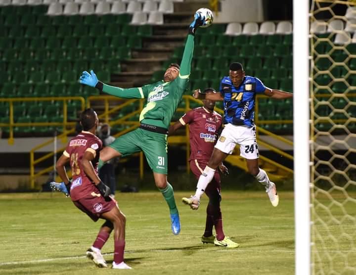 Boyacá Chicó venció en Tunja al Deportes Tolima al cierre de la jornada dominical. 6
