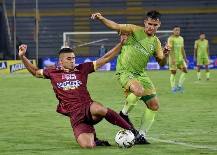 Deportes Tolima venció a Jaguares y es lider del fútbol colombiano. 9