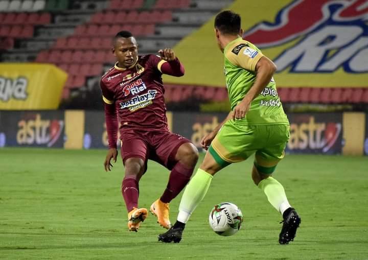 Deportes Tolima venció a Jaguares y es lider del fútbol colombiano. 8