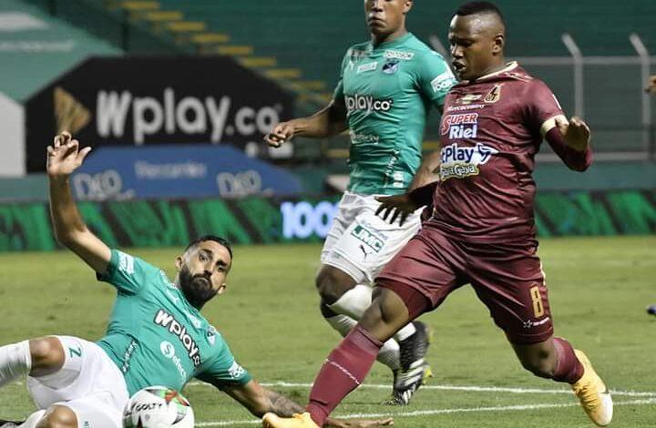 Con empate sin goles Cali y Tolima continúan en la parte alta de la tabla con 24 puntos. 5