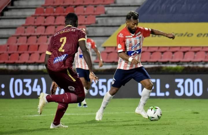 Deportes Tolima cayó por la mínima diferencia ante Júnior en Ibagué. 5