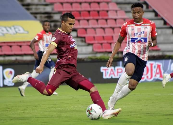 Deportes Tolima cayó por la mínima diferencia ante Júnior en Ibagué. 7