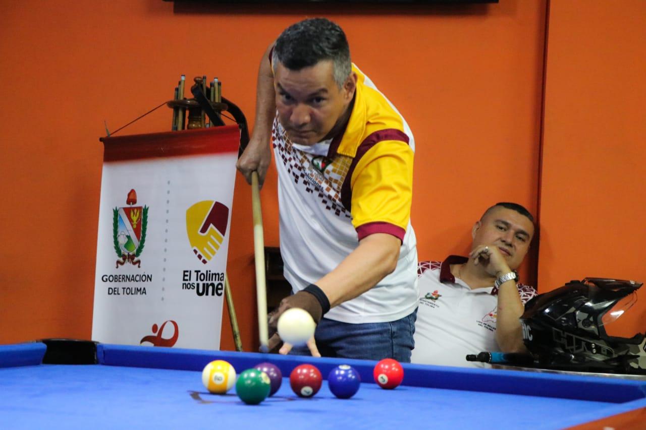 Muy positivo fue el comienzo de las competencias presenciales del billar en el Tolima. 6