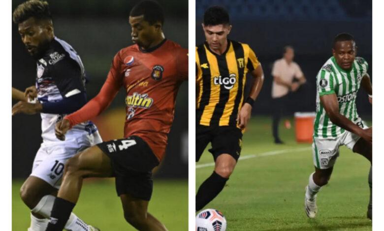 Buen inicio de Junior y Nacional en la Copa Libertadores 2021. 1