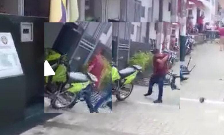 Nuevo ataque en contra de la Policía en el Tolima 1