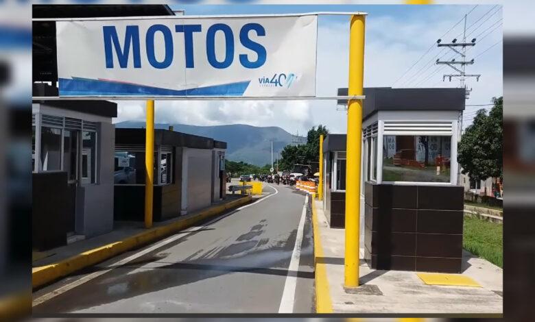 ¿Peajes para motos en el Tolima? 1