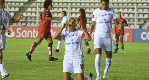 América de Cali goleó 5 a 1 al Nacional de Ecuador en la Copa Libertadores femenina. 1