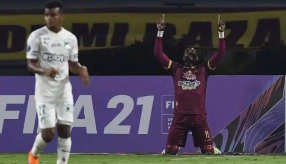 Tolima ganó y golea al Cali para tomar ventaja en la Sudamericana. 6