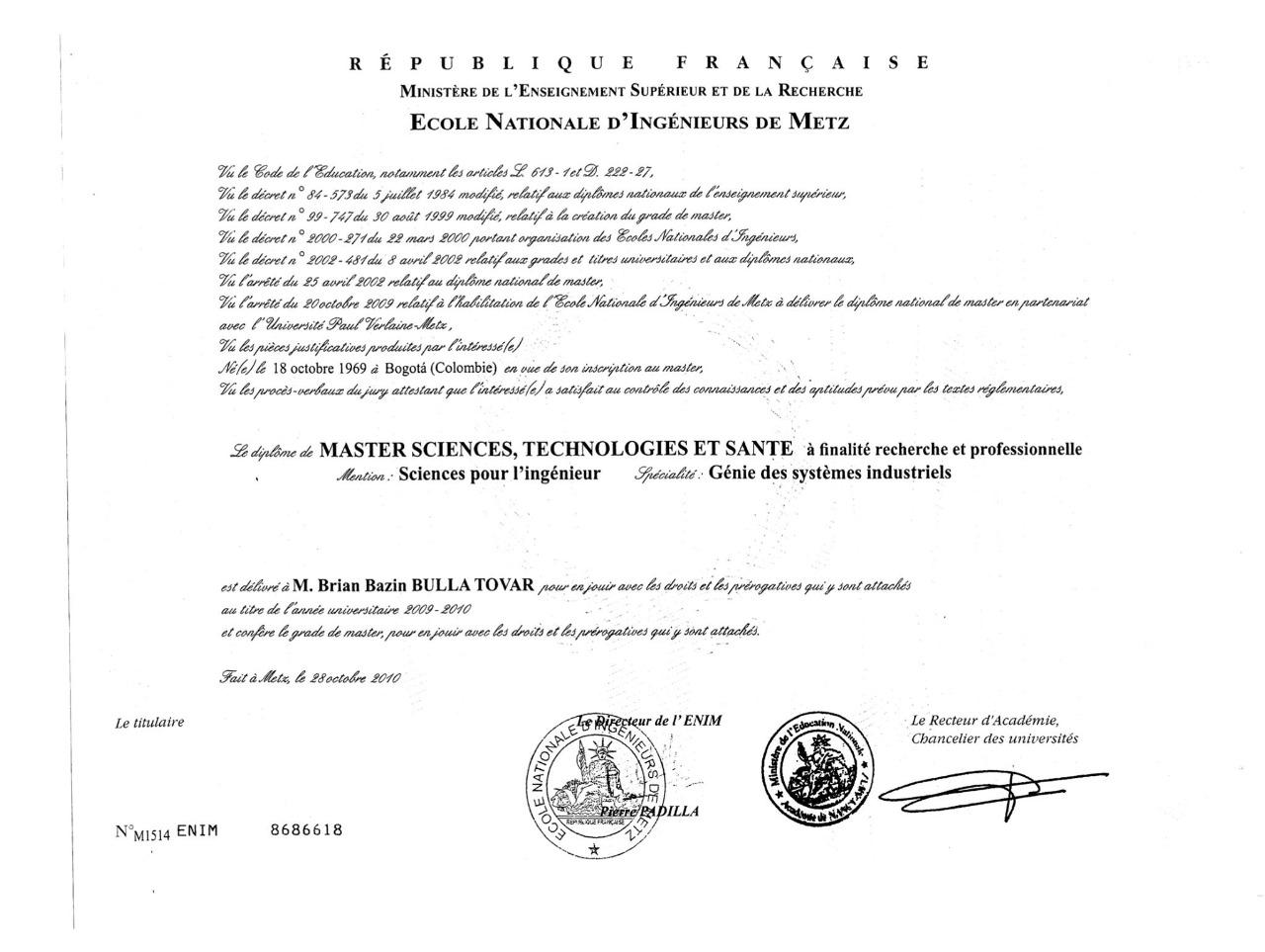 Presidente de la CCI habría presentado documento no convalidado de estudios en el exterior 6