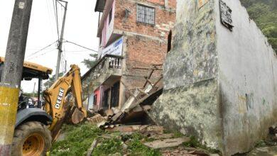 Así fue la demolición de las ollas del microtráfico en Ibagué 3