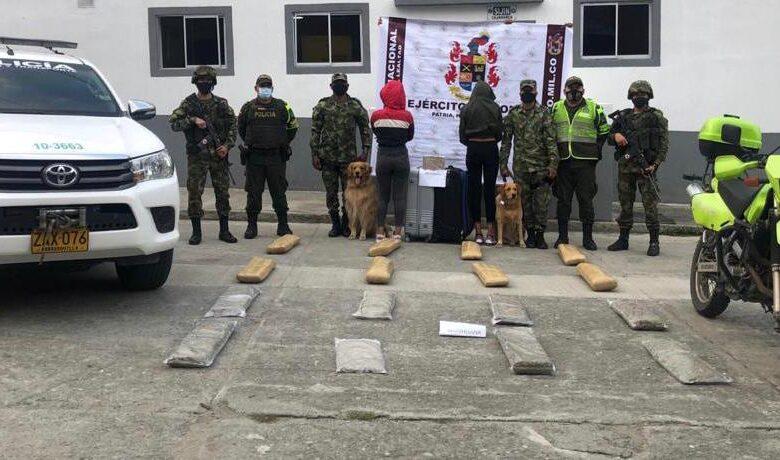 Incautan 31 kilos de Marihuana y Cocaína a venezolanas en Cajamarca 3