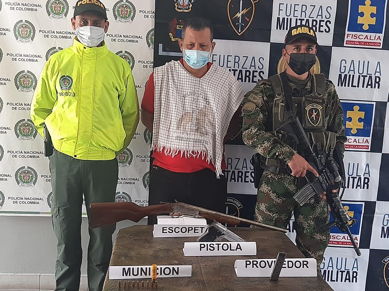 Caen traficantes de armas en el Tolima 4