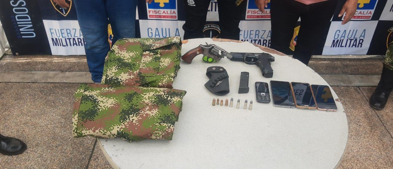 Caen traficantes de armas en el Tolima 5
