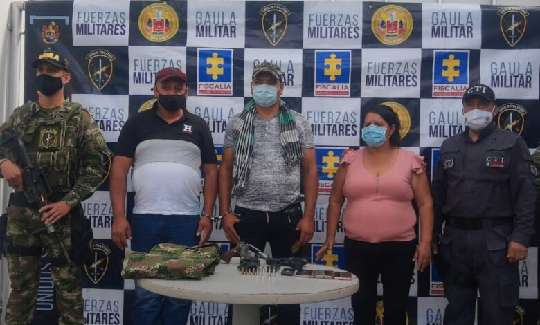 Caen traficantes de armas en el Tolima 1